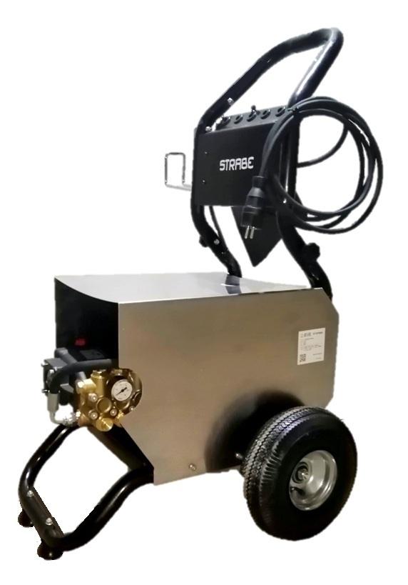 АВД 5,5 кВт на колесах